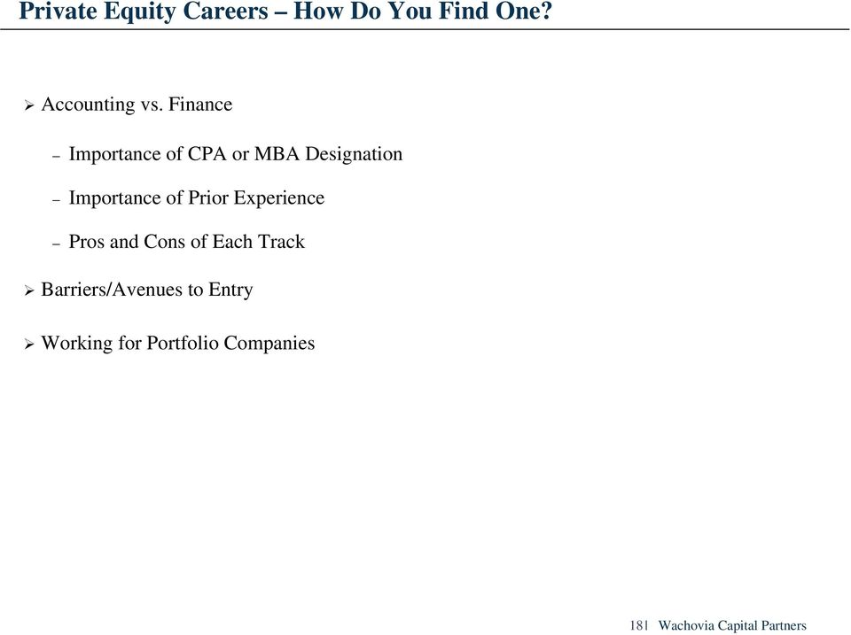 Finance Importance of CPA or MBA Designation Importance of