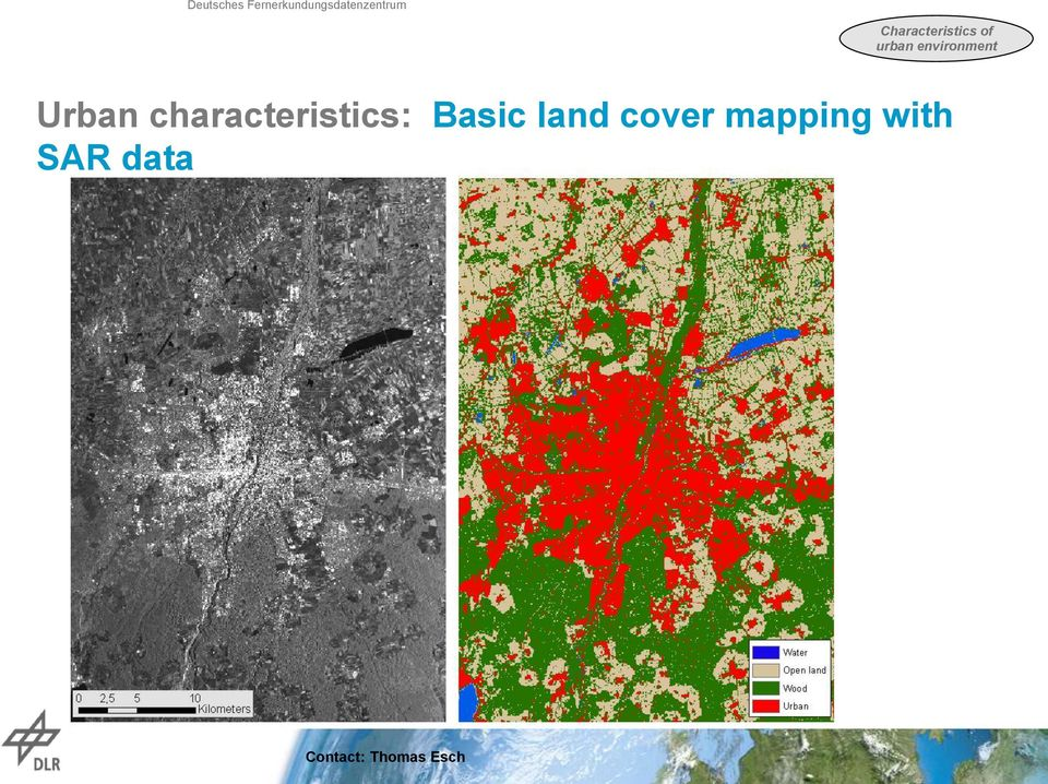 land cover mapping with