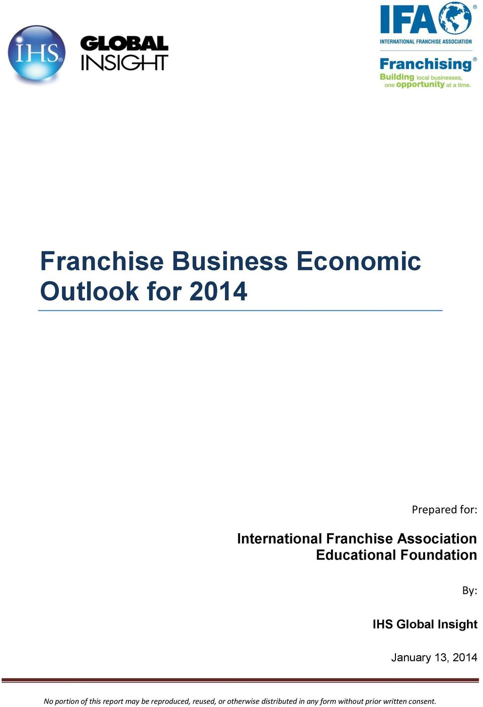 Franchise Association Educational