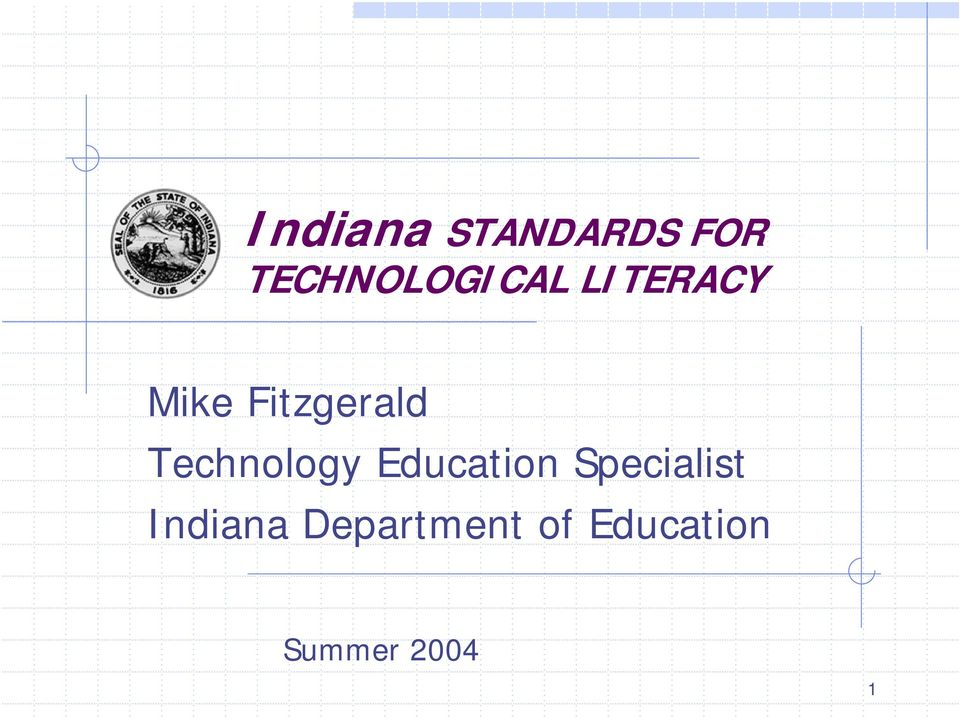Fitzgerald Technology Education