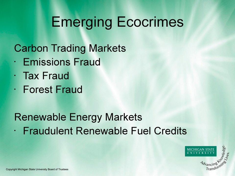 Forest Fraud Renewable Energy