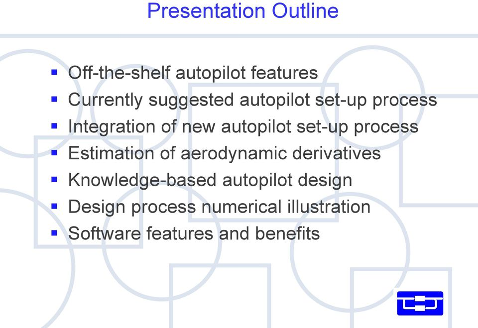 process Estimation of aerodynamic derivatives Knowledge-based