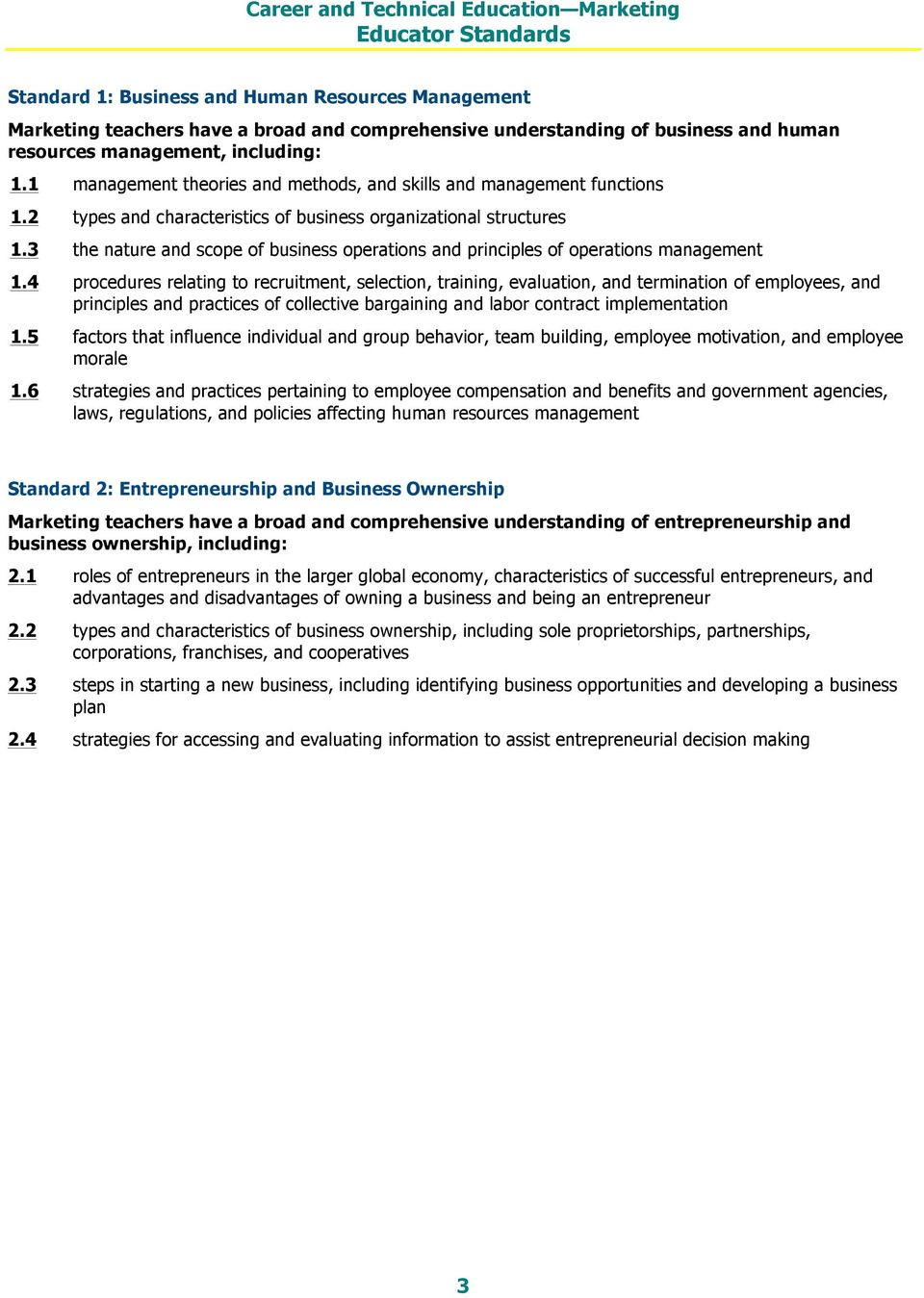 3 the nature and scope of business operations and principles of operations management 1.