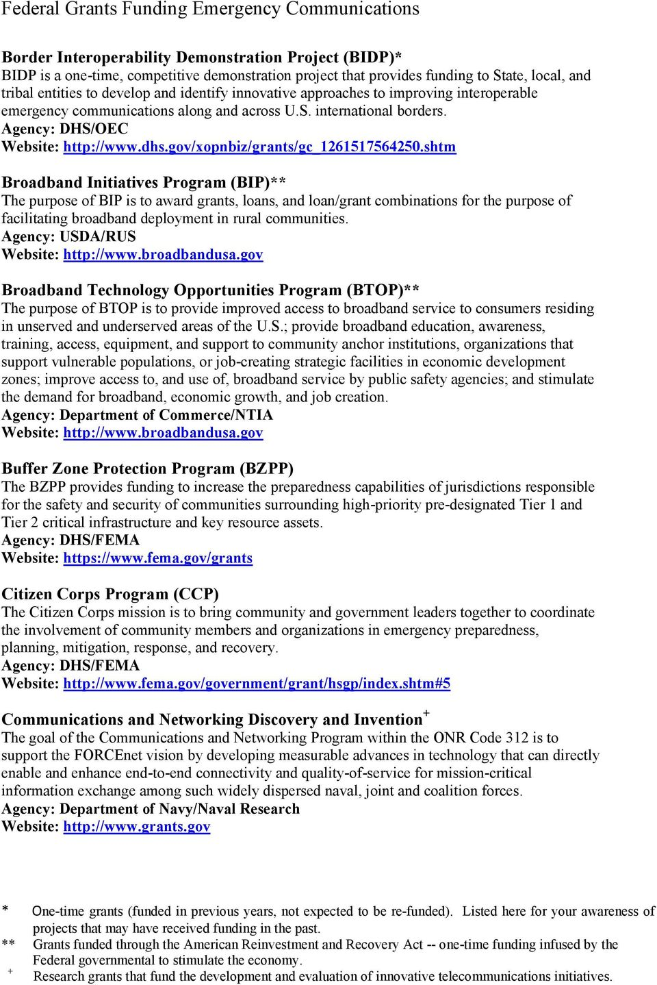 shtm Broadband Initiatives Program (BIP)** The purpose of BIP is to award grants, loans, and loan/grant combinations for the purpose of facilitating broadband deployment in rural communities.