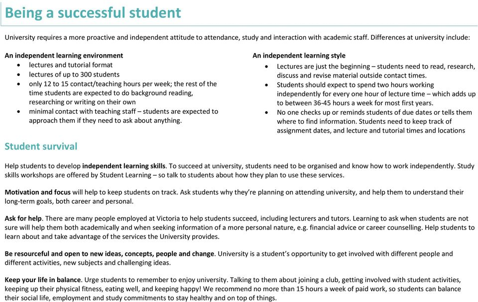 students are expected to do background reading, researching or writing on their own minimal contact with teaching staff students are expected to approach them if they need to ask about anything.
