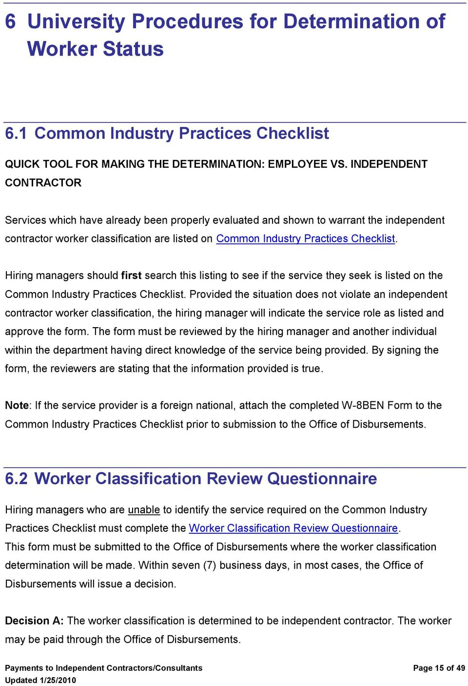 payments to independent contractors consultants pdf
