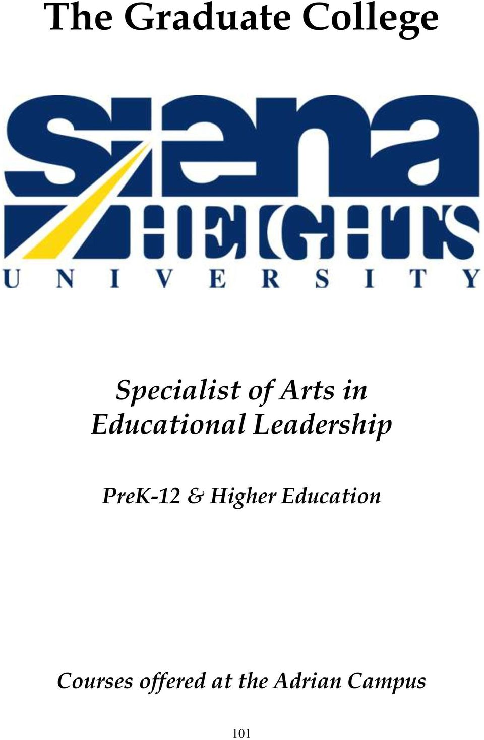 PreK-12 & Higher Education