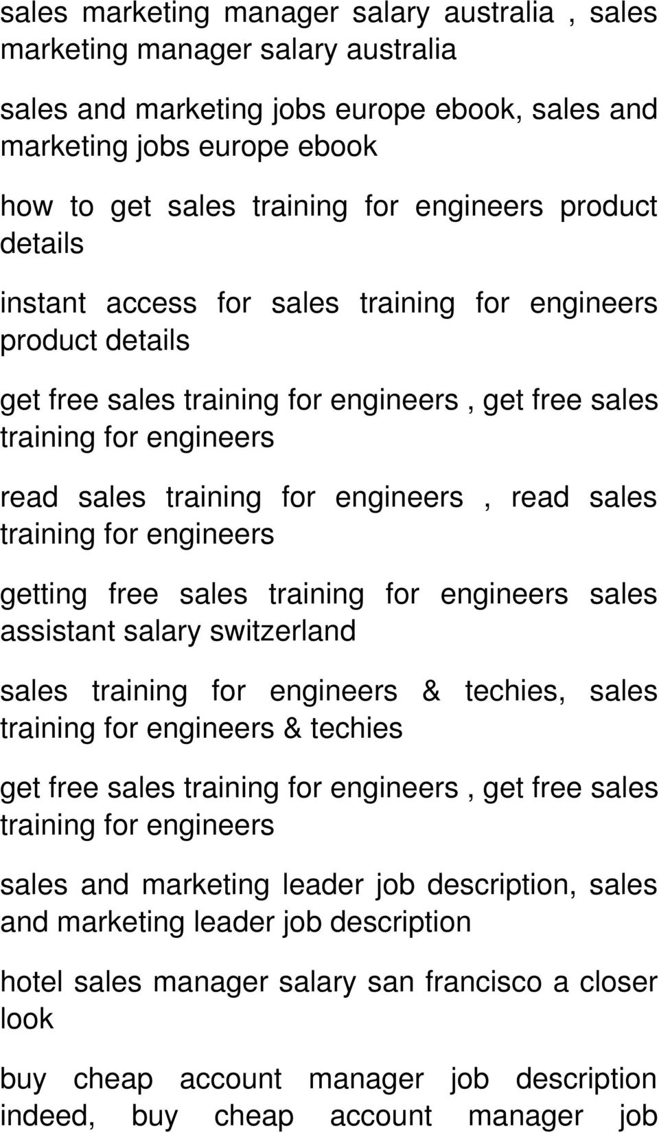 sales assistant salary switzerland sales & techies, sales & techies get free sales, get free sales sales and marketing leader job description, sales and