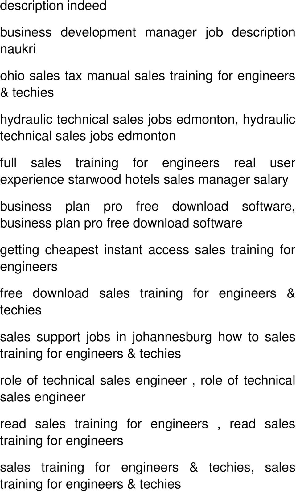 business plan pro free download software getting cheapest instant access sales training for engineers free download sales & techies sales support jobs in