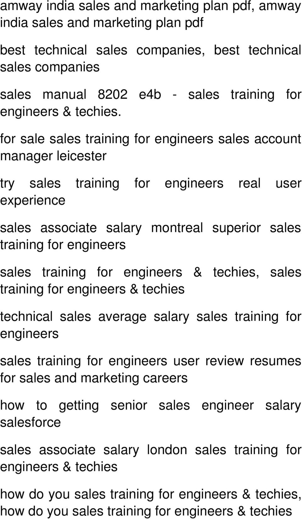 for sale sales sales account manager leicester try sales real user experience sales associate salary montreal superior sales sales & techies, sales & techies