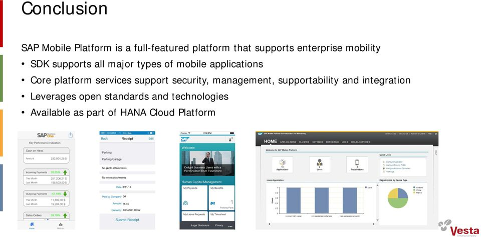 platform services support security, management, supportability and