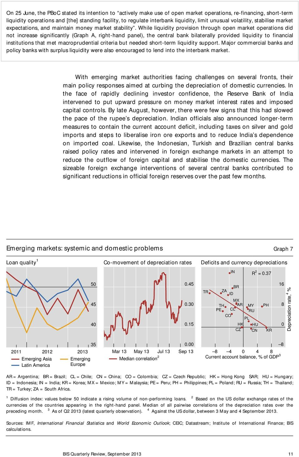 While liquidity provision through open market operations did not increase significantly (Graph A, right-hand panel), the central bank bilaterally provided liquidity to financial institutions that met