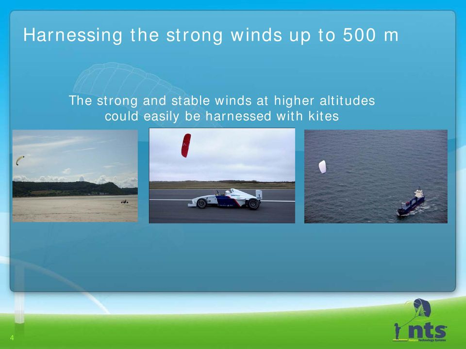 winds at higher altitudes could