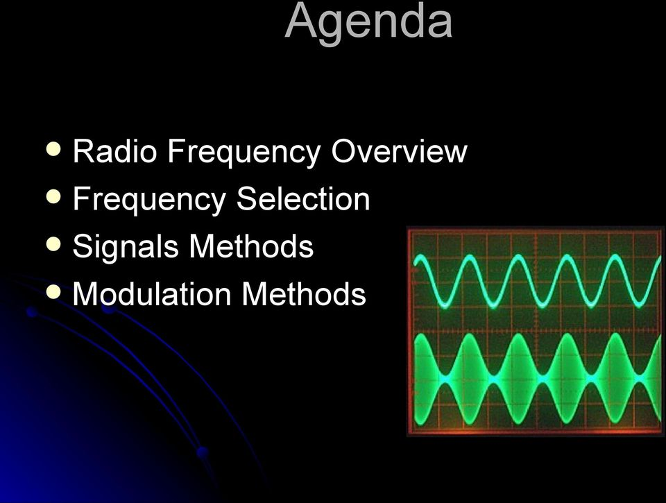 Frequency Selection