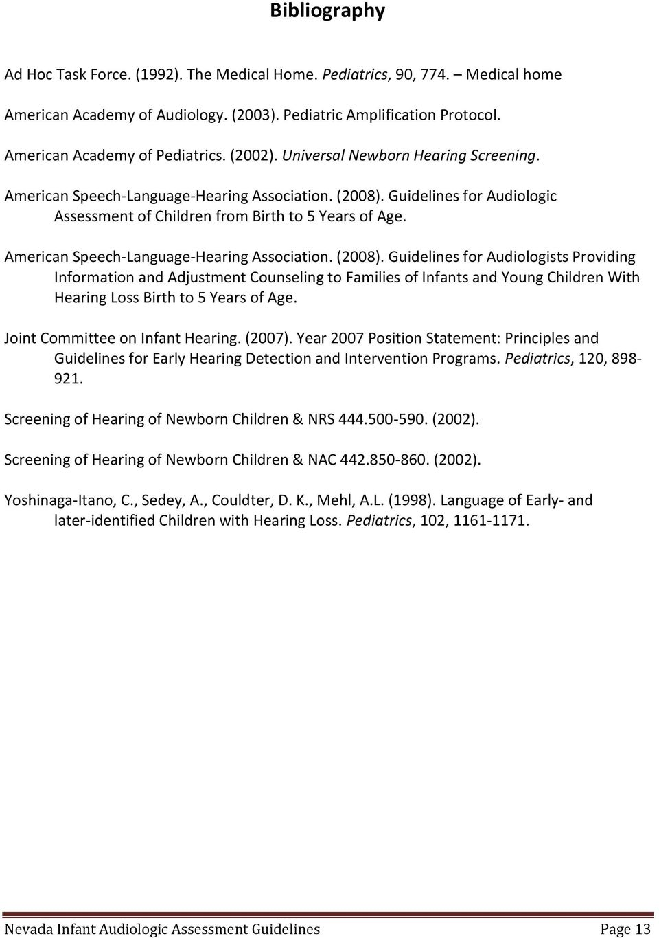 American Speech-Language-Hearing Association. (2008).