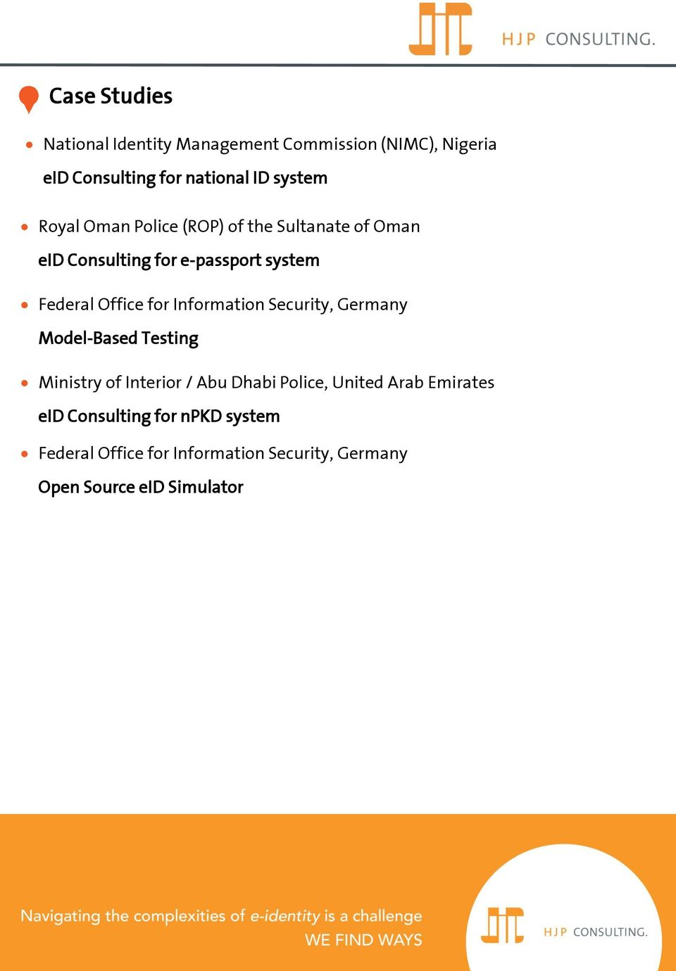 Information Security, Germany Model-Based Testing Ministry of Interior / Abu Dhabi Police, United Arab