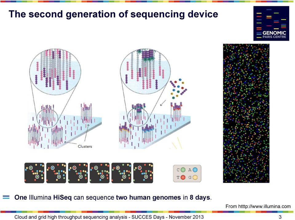 HiSeq can sequence two human