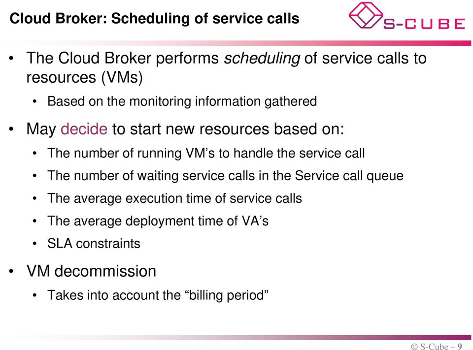 handle the service call The number of waiting service calls in the Service call queue The average execution time of