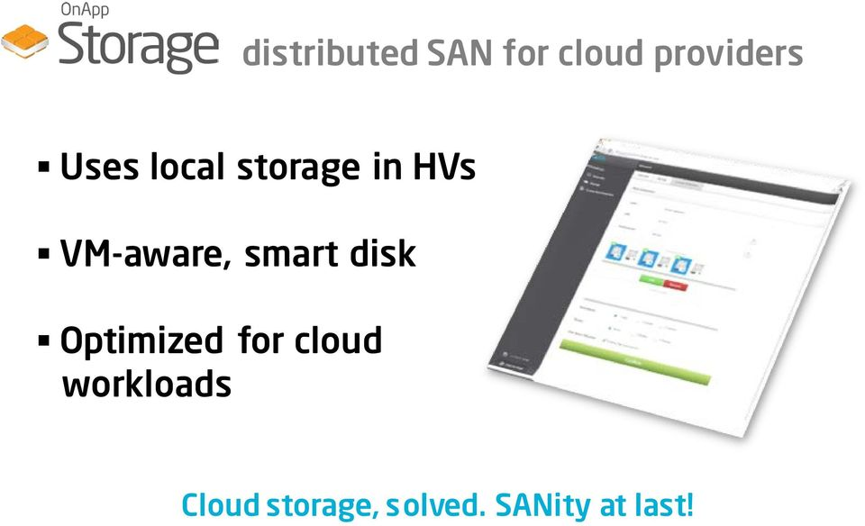 smart disk Optimized for cloud