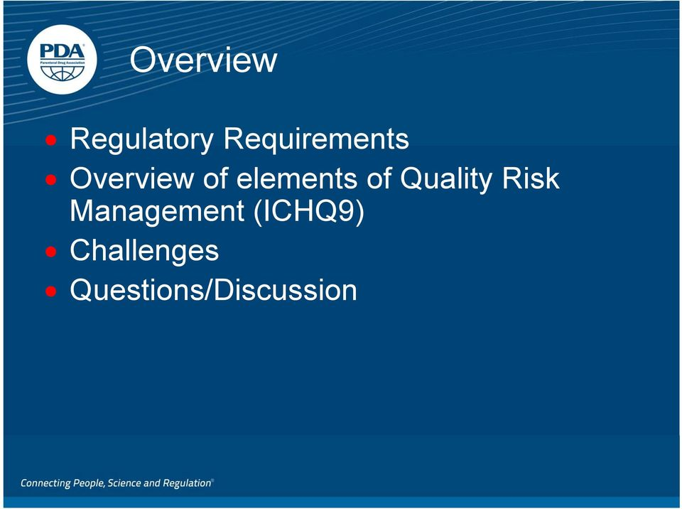elements of Quality Risk