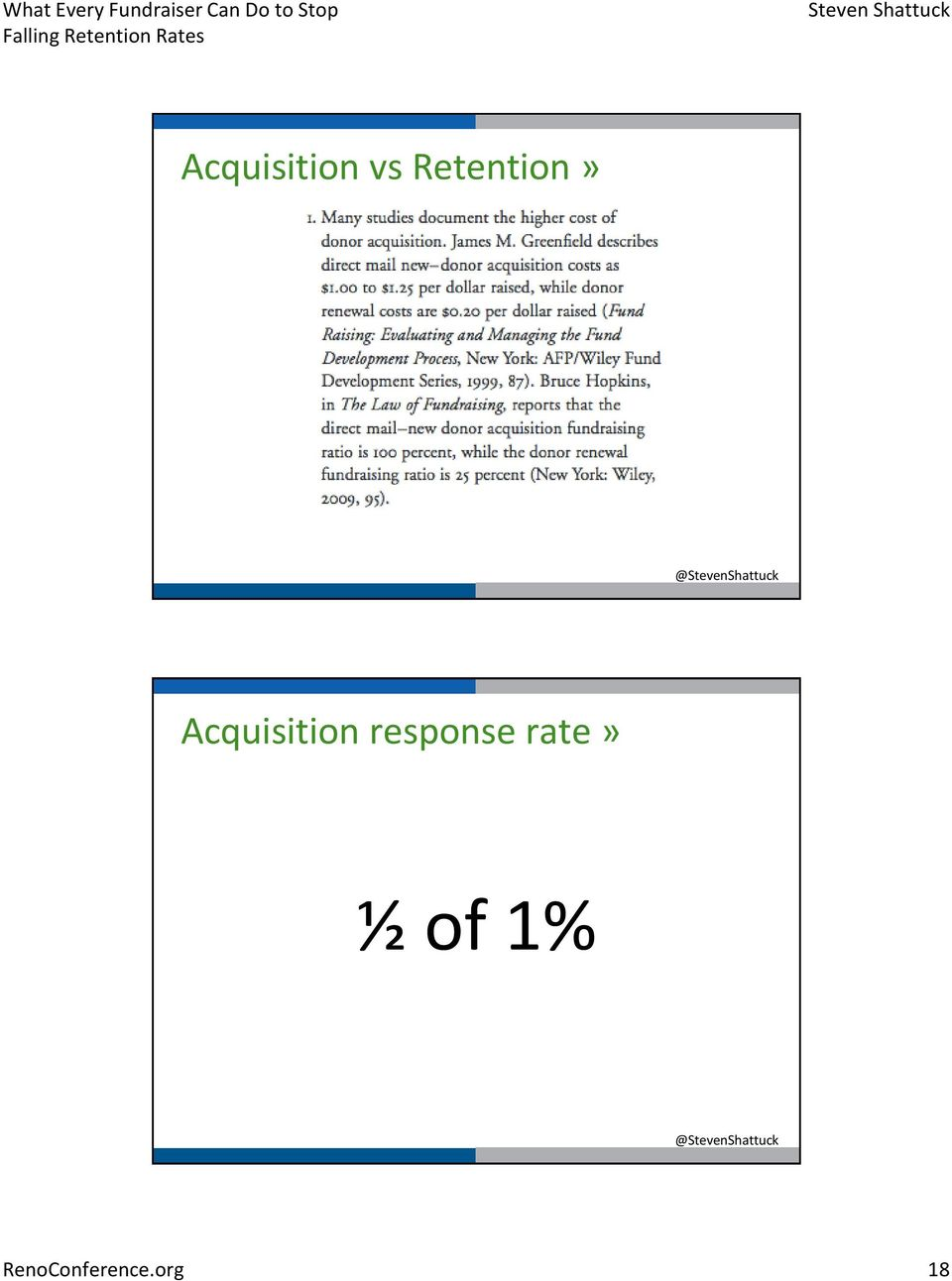 Acquisition response