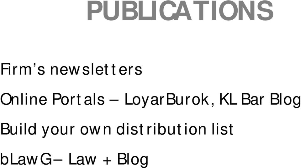 LoyarBurok, KL Bar Blog Build