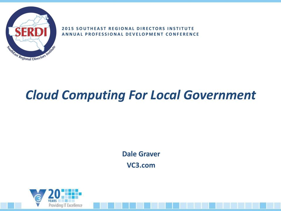 DEVELOPMENT CONFERENCE Cloud