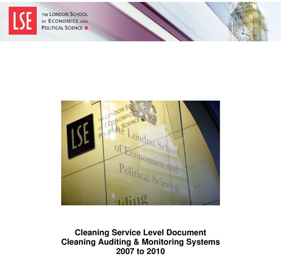 Cleaning Auditing &