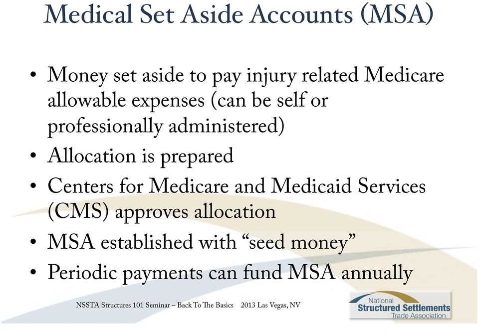 Allocation is prepared Centers for Medicare and Medicaid Services (CMS)