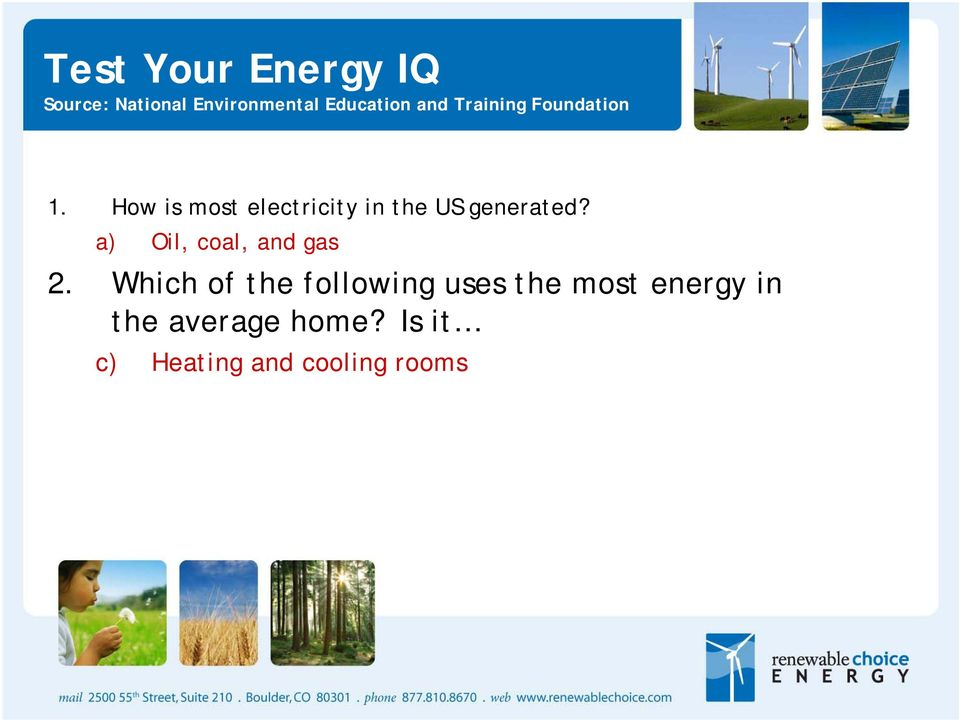 How is most electricity in the US generated?