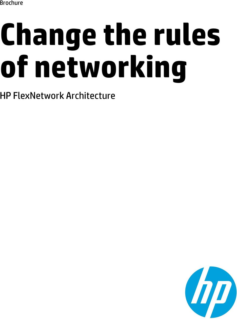networking HP