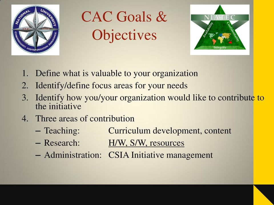 Identify how you/your organization would like to contribute to the initiative 4.
