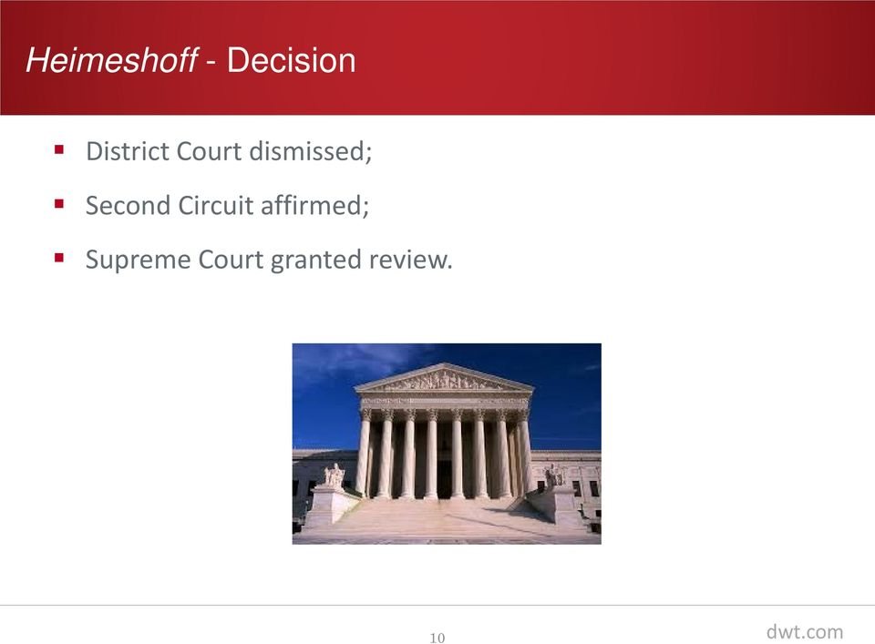 Second Circuit affirmed;
