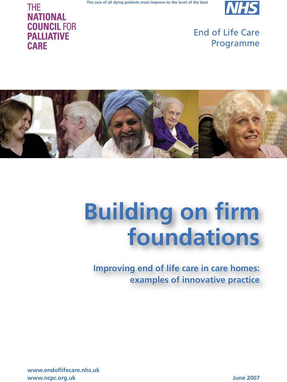 care in care homes: examples of