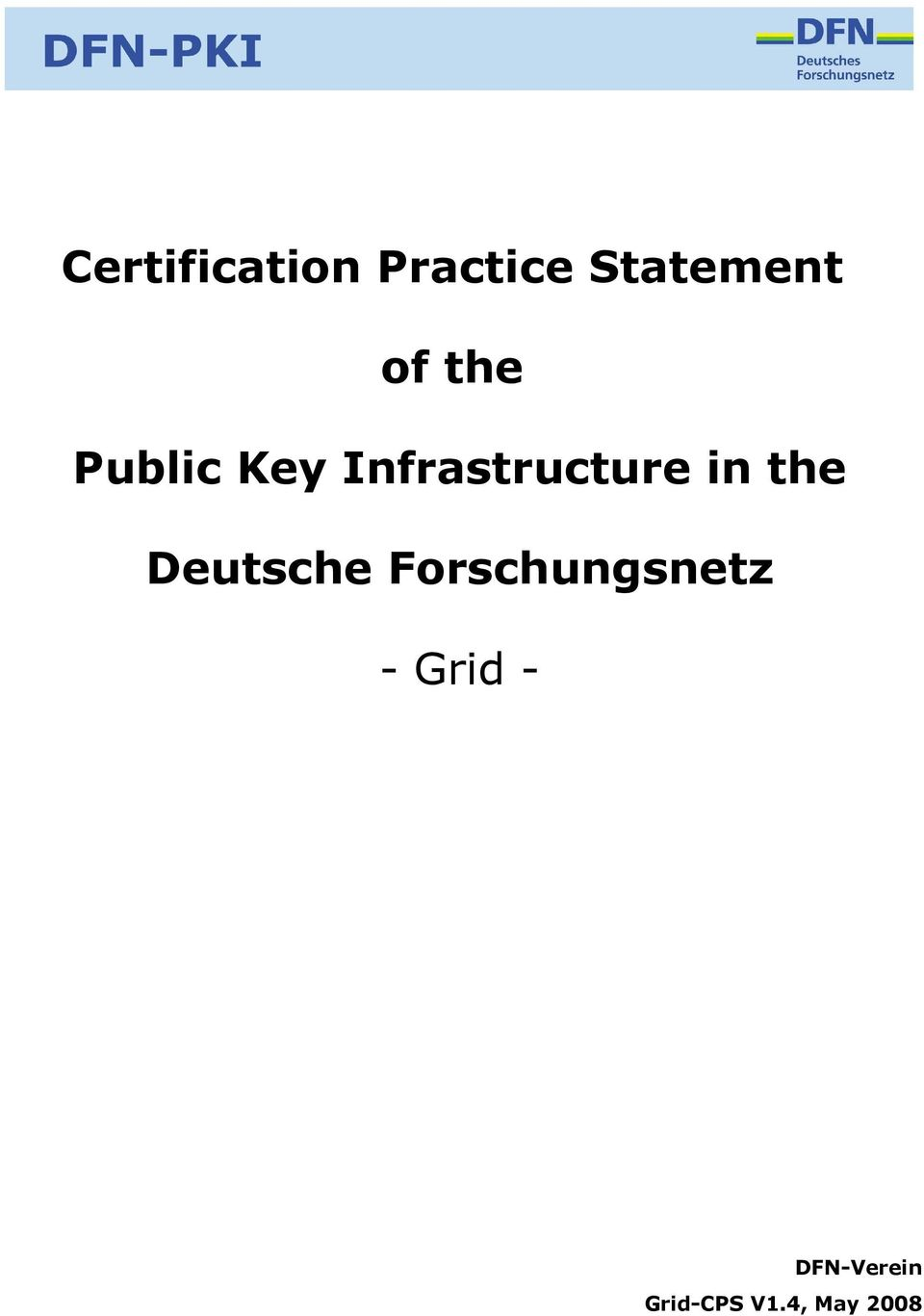 in the Deutsche Forschungsnetz -