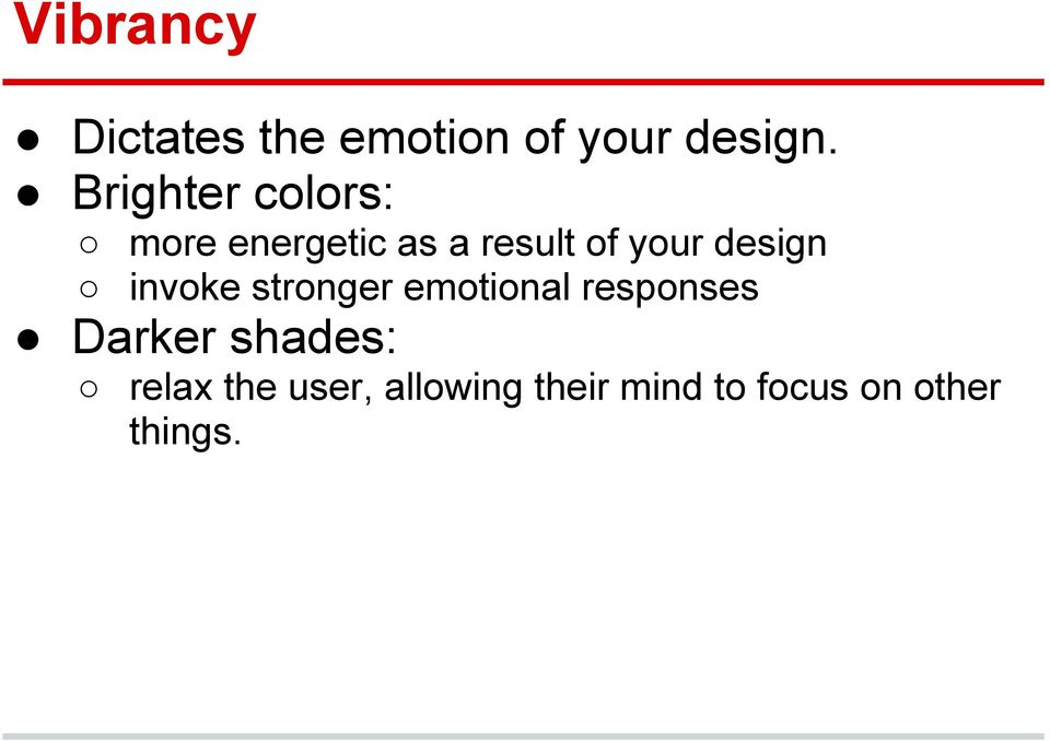 design invoke stronger emotional responses Darker