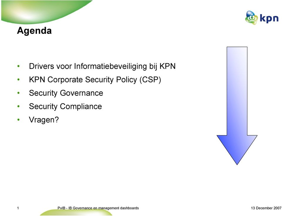 Corporate Security Policy (CSP)