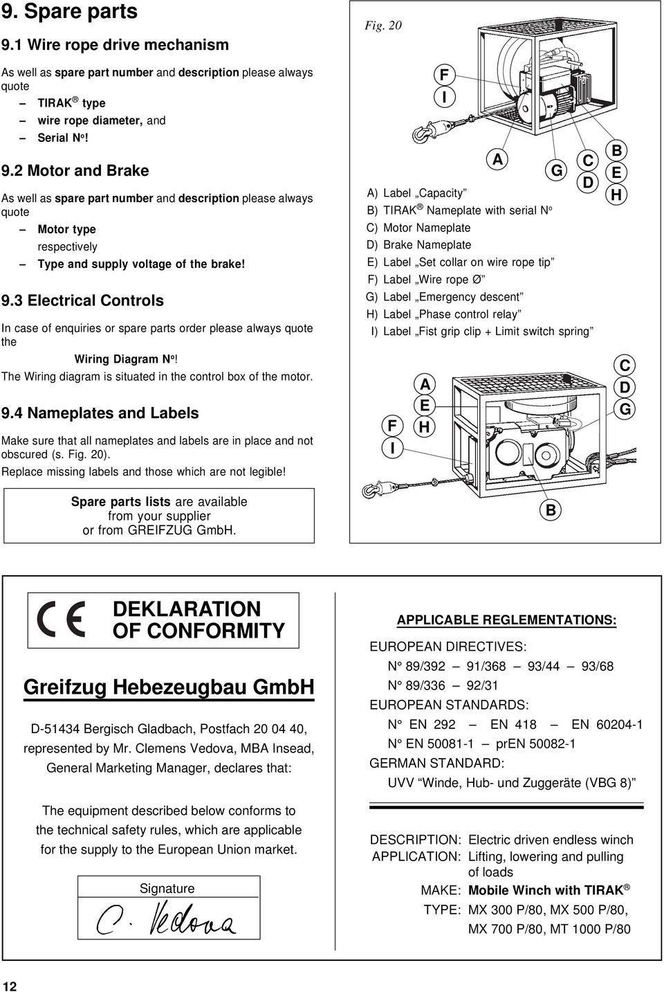 tirfor winch operating instructions