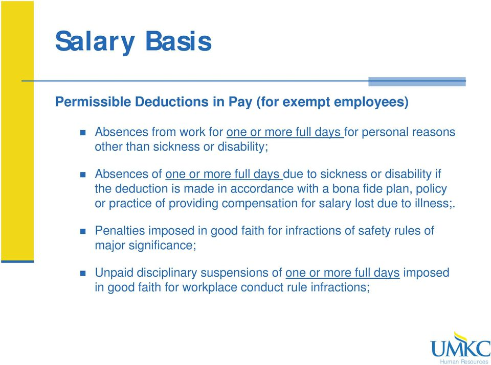 plan, policy or practice of providing compensation for salary lost due to illness;.