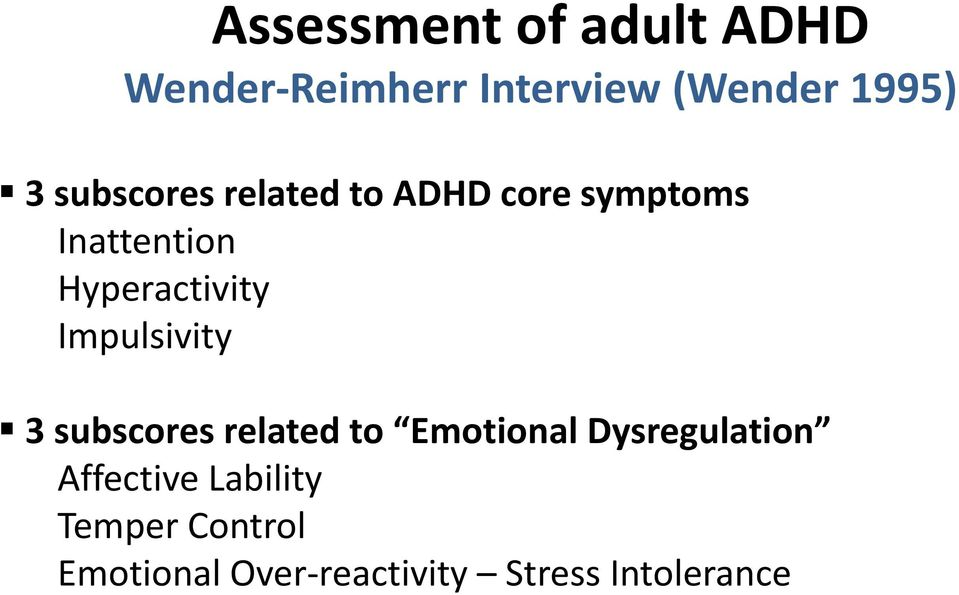 adhd adult Mood reactivity