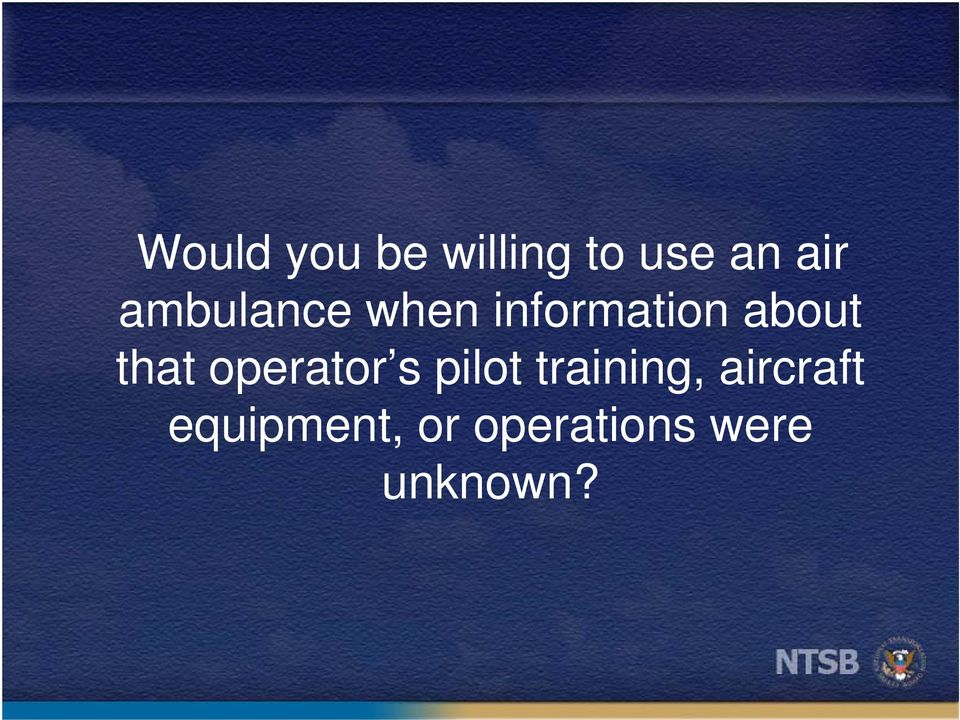 that operator s pilot training,