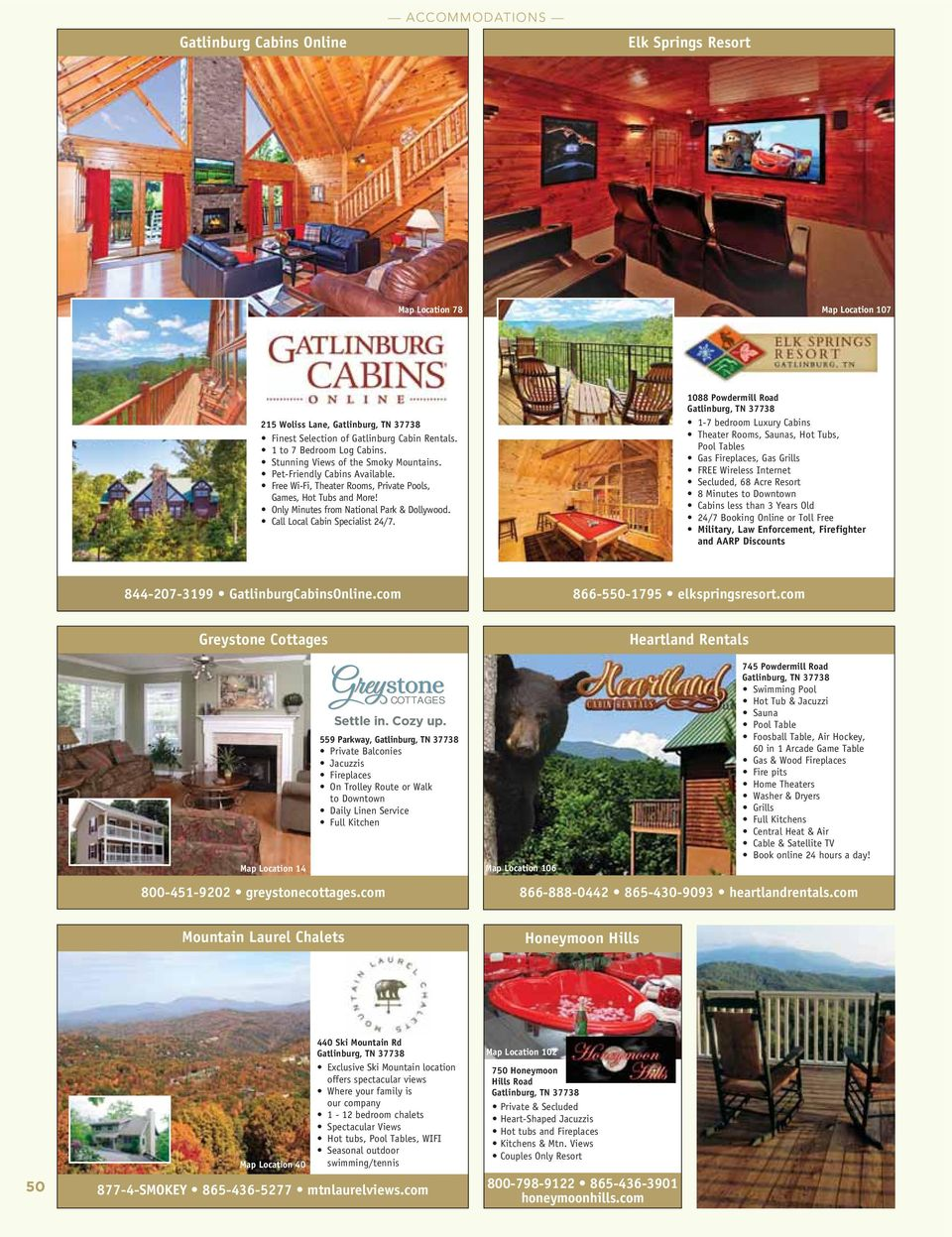 BY-OWNER CABINS & CHALETS - PDF