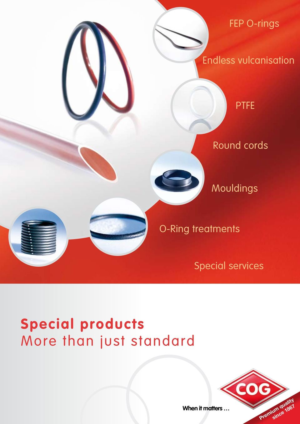services Special products More than just