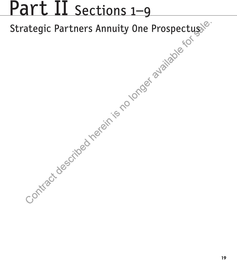 Partners Annuity