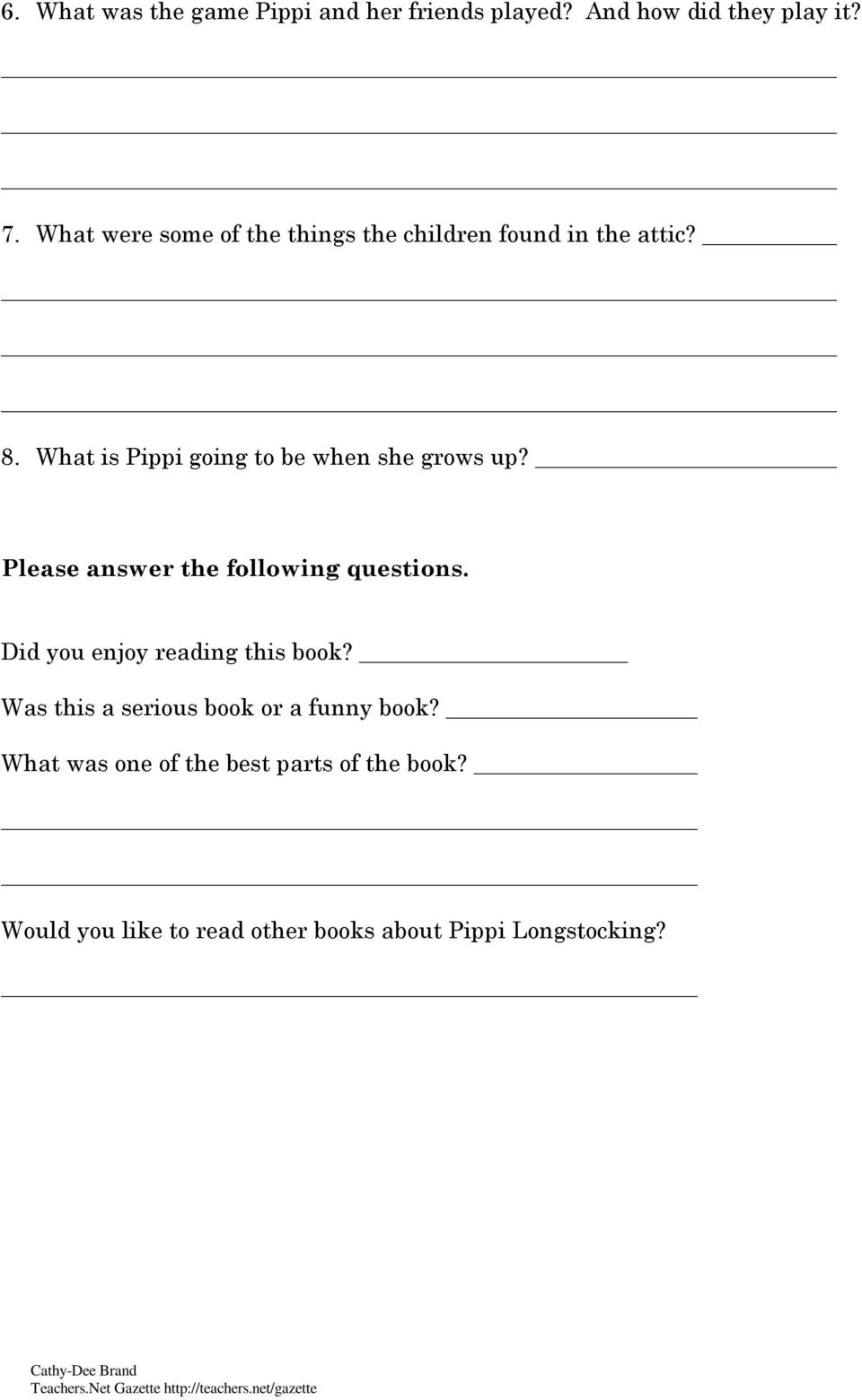 What is Pippi going to be when she grows up? Please answer the following questions.