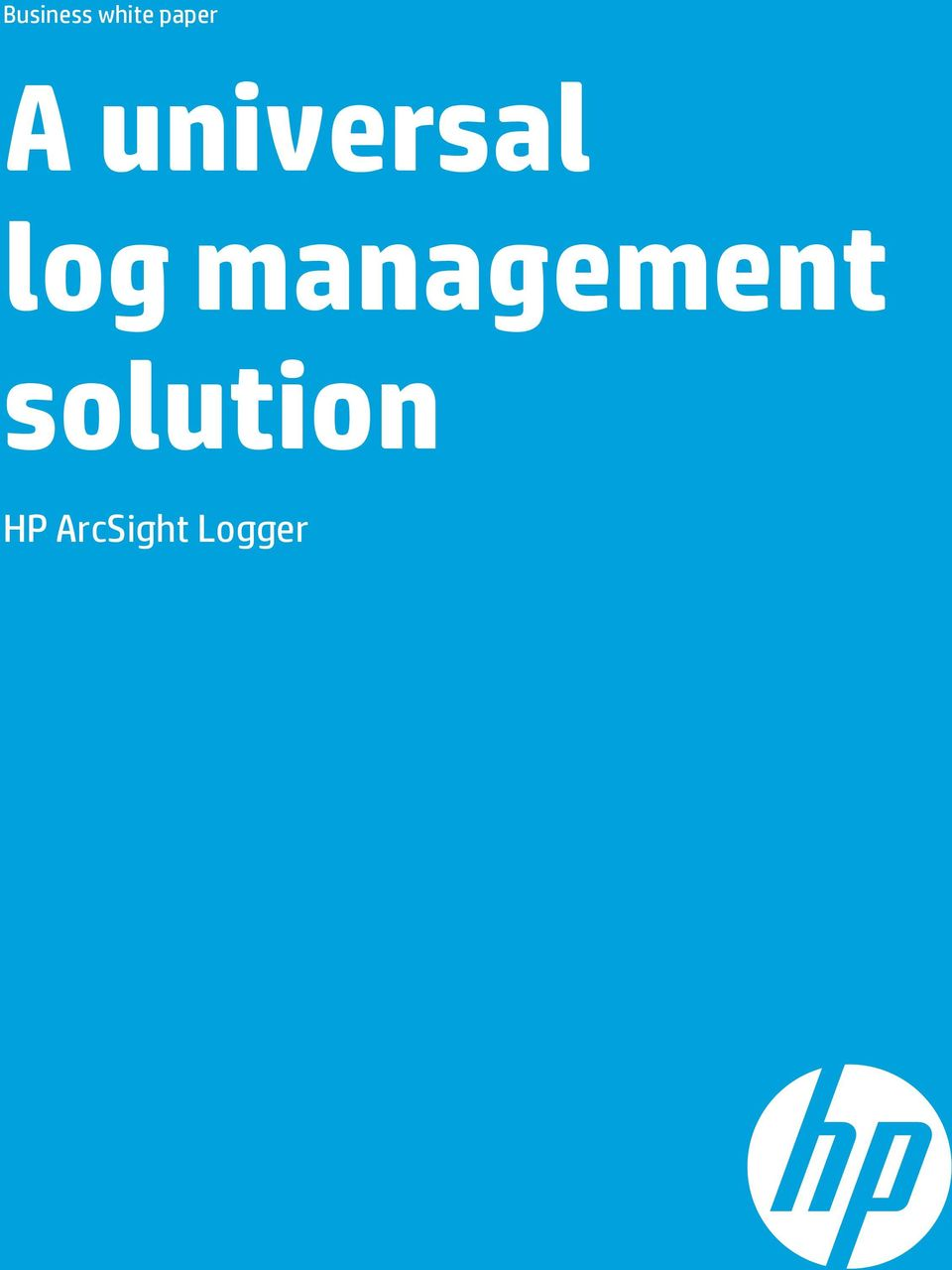 log management