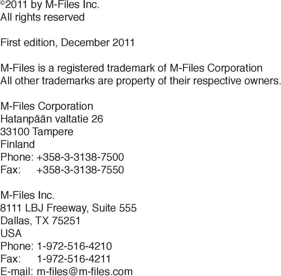 All other trademarks are property of their respective owners.