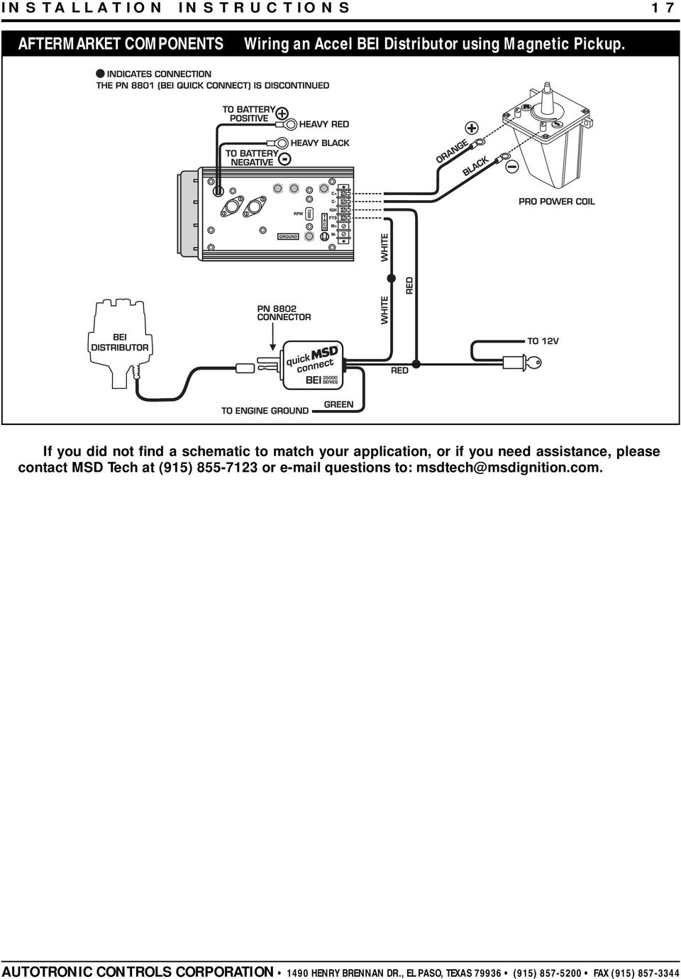 msd 7al 2 ignition pn 7220 7224 7226 pdf if you did not a schematic to match your application or if you