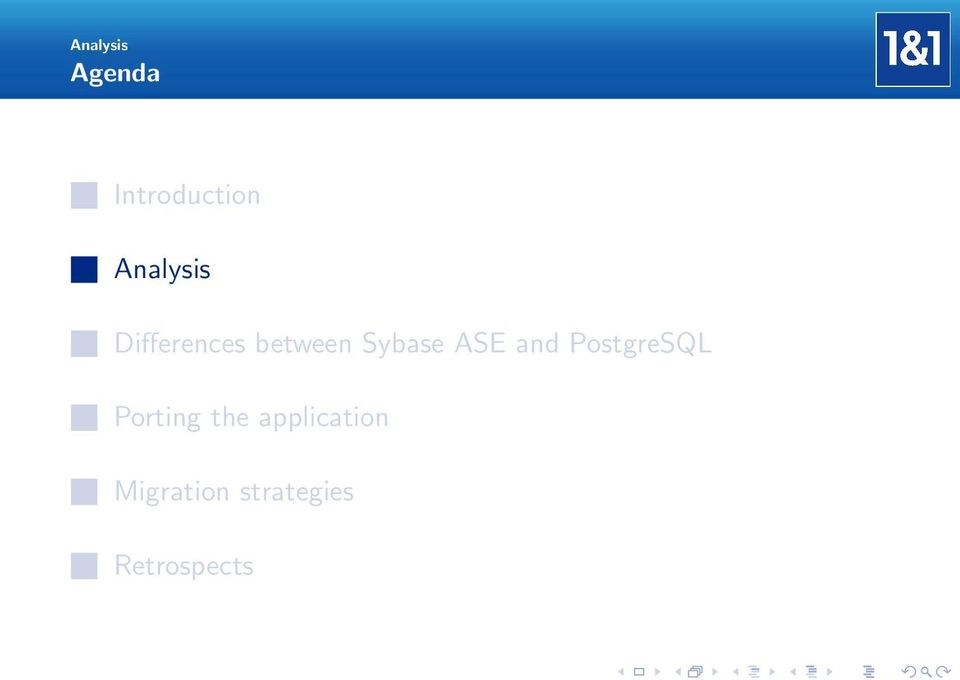 Sybase ASE and PostgreSQL Porting