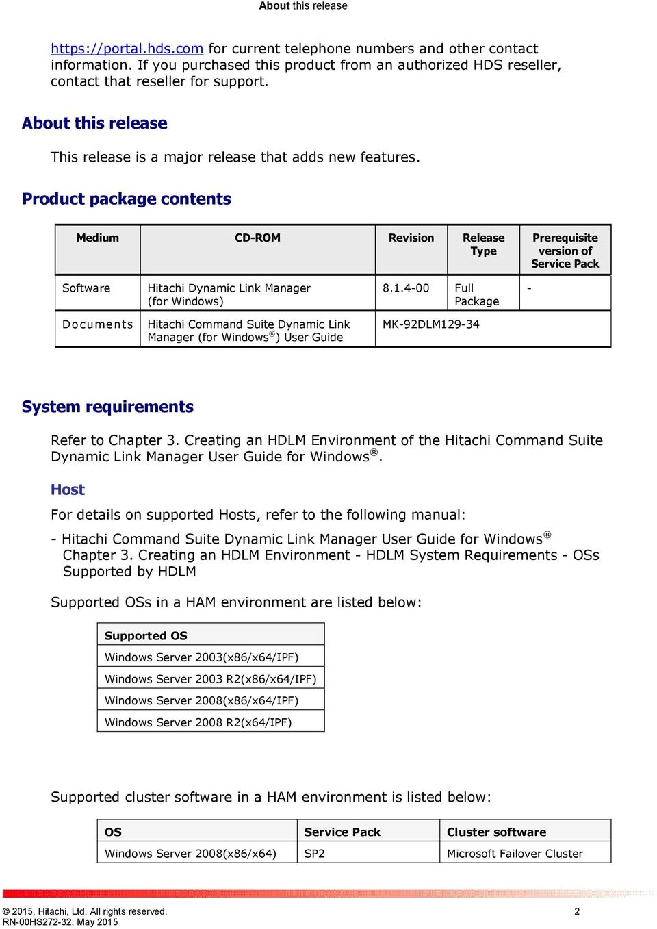 hitachi dynamic link manager for windows release notes pdf rh docplayer net Kindle Fire User Guide User Guide Template